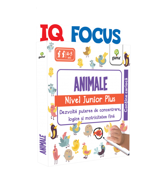 Animale • nivel Junior Plus - IQ FOCUS
