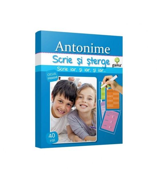 Antonime - Scrie și șterge - Expert limba română