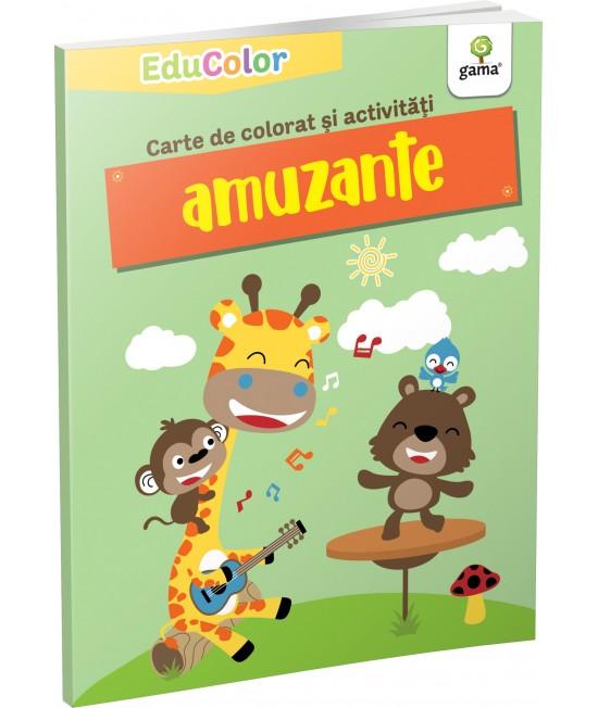 Carte de colorat și activități amuzante - EduColor