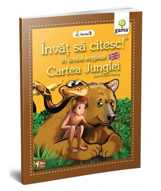 Cartea Junglei - Învăț să citesc în limba engleză