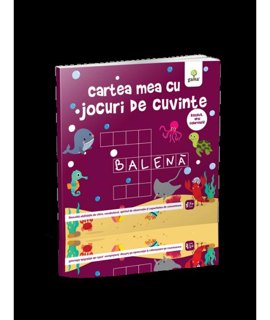 Cartea mea cu jocuri de cuvinte - Cartea mea de jucat și învățat