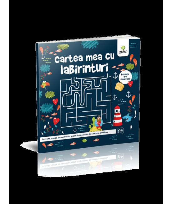 Cartea mea cu labirinturi - Cartea mea de jucat și învățat