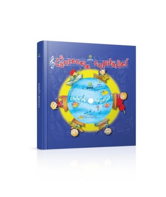 Cântecele copilăriei - carte cu CD