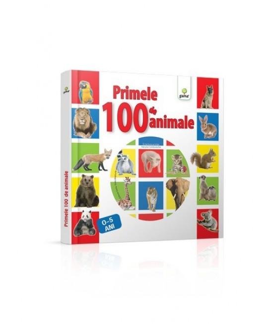 Primele 100 de animale - carte cu CD