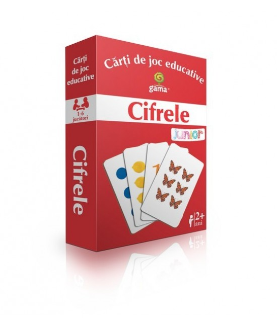 Cifrele - Cărți de joc educative - EduCard Junior