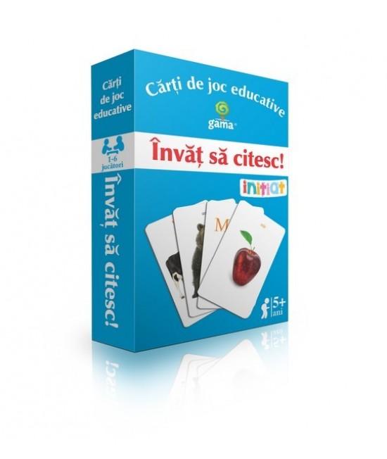 Învăț să citesc - Cărți de joc educative - EduCard Inițiat