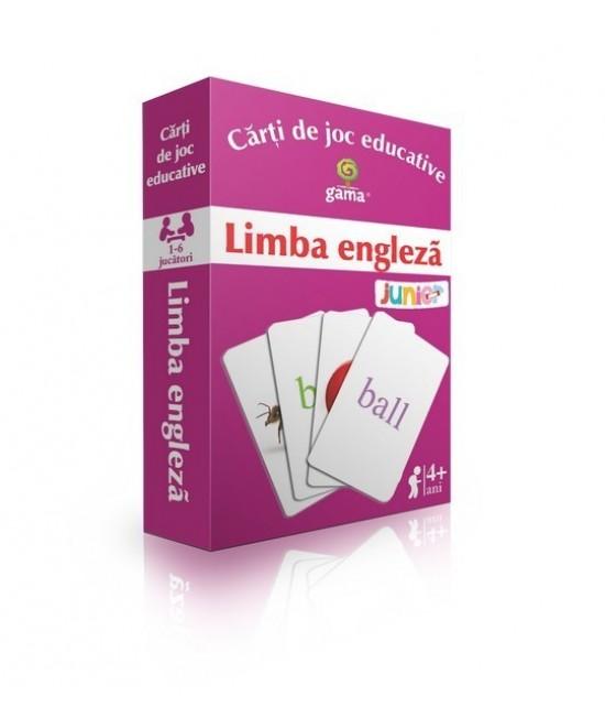 Limba engleză - Cărți de joc educative