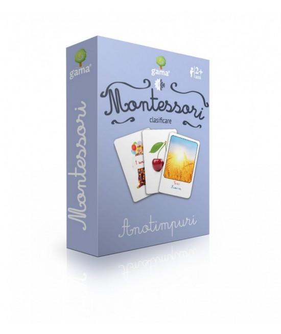 Anotimpuri - Cărți de joc bilingve Montessori