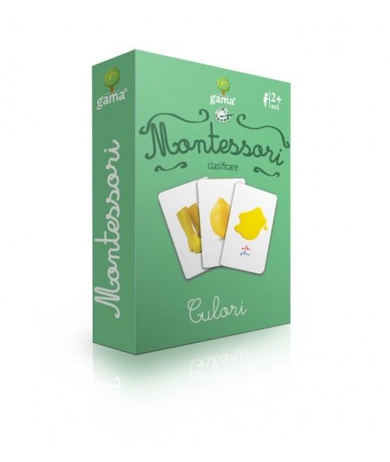 Culori - Cărți de joc bilingve Montessori - Clasificare