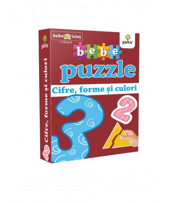 Cifre, forme și culori - Bebe Puzzle
