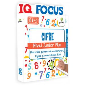 Cifre • nivel Junior Plus - IQ FOCUS