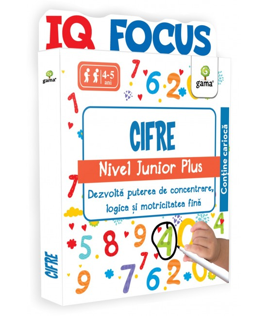 Cifre • nivel Junior Plus - IQ FOCUS