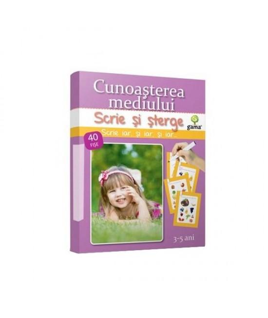 Cunoaşterea mediului • 3-5 ani - Scrie și șterge - Junior Plus