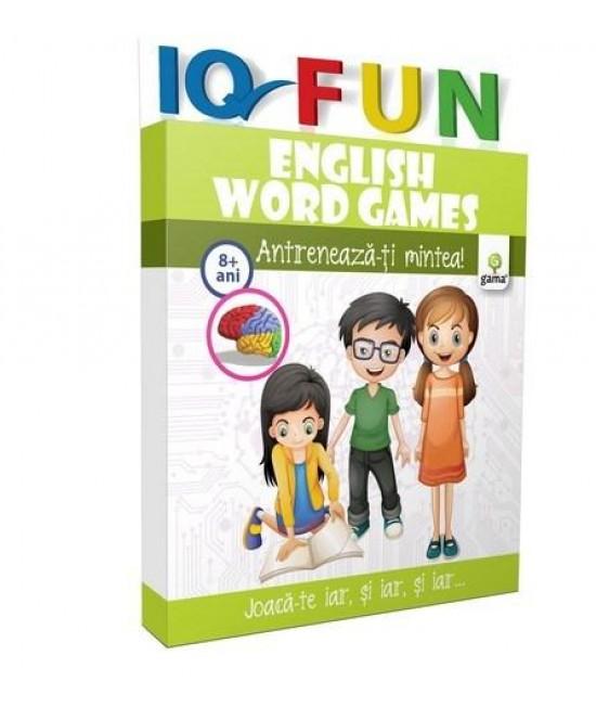 English Words Games - IQ FUN - Cuvinte încrucișate în limba engleză