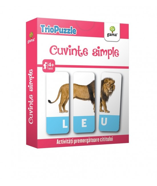 Cuvinte simple - Triopuzzle