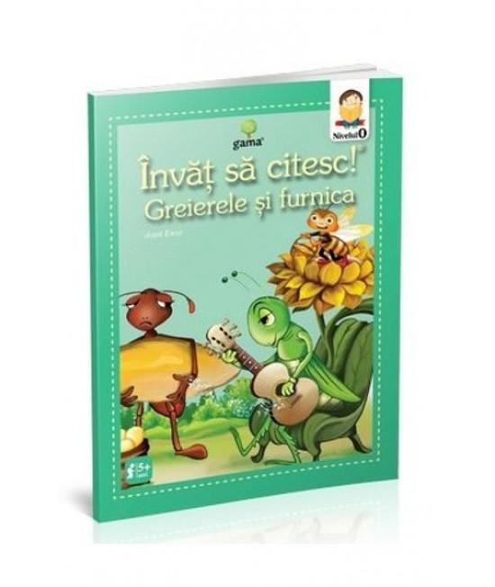 Greierele și furnica - Învăț să citesc! Nivelul 0