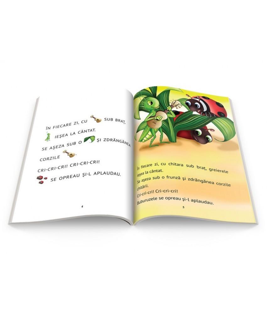 Greierele și Furnica învăț Să Citesc Nivelul 0