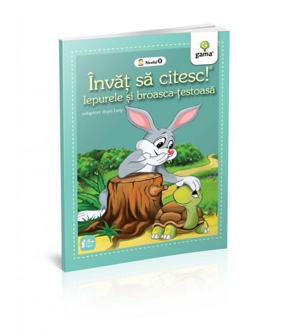 Iepurele și broasca țestoasă - Învăț să citesc! Nivelul 0