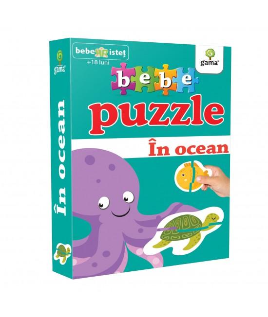 În ocean - Bebe Puzzle