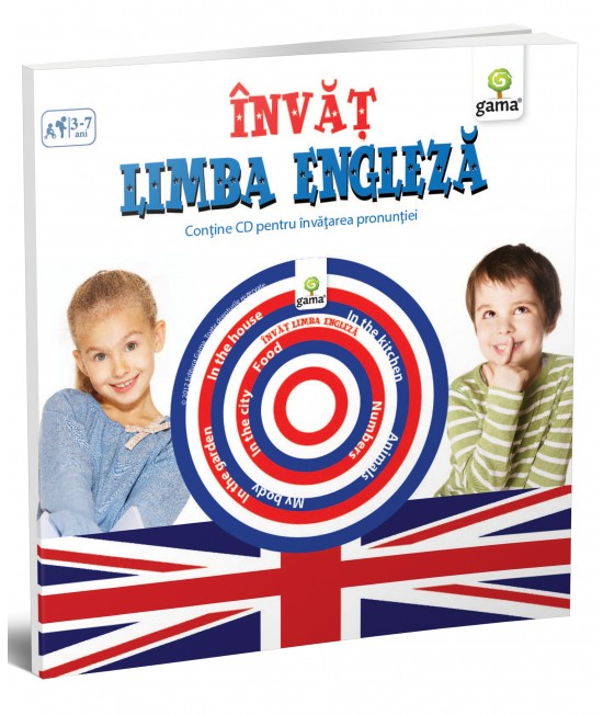 Învăț limba engleză - Cărți educative cu CD