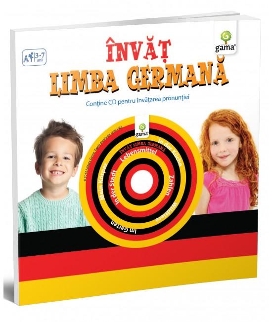 Învăț limba germană - Cărți educative cu CD