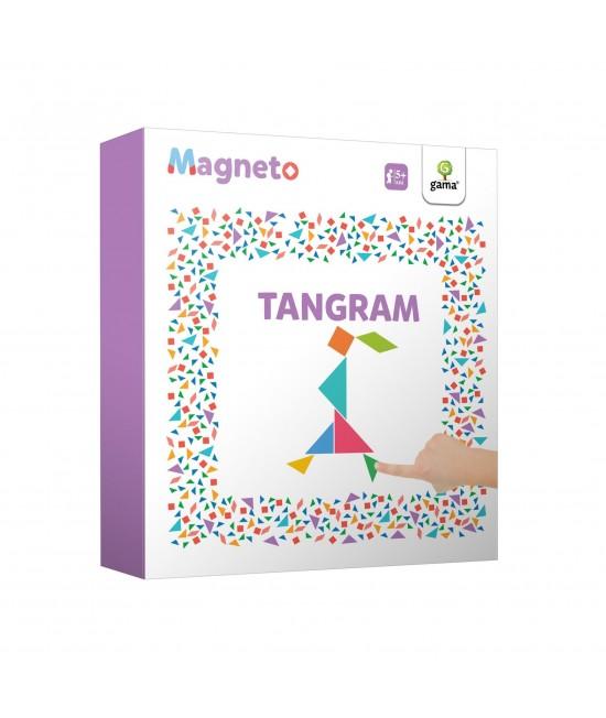 Joc-puzzle magnetic Tangram - Magneto
