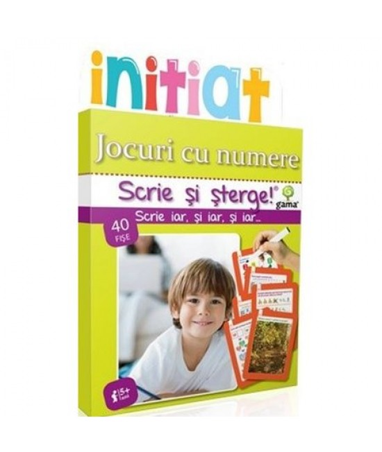 Jocuri cu numere - Scrie și șterge - Inițiat