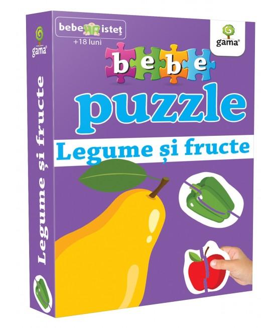 Legume și fructe - Bebe Puzzle