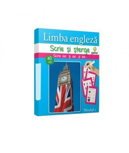 Limba engleză • Beginner - Scrie și șterge! Linguo