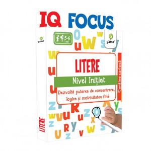 Litere • nivel Inițiat - IQ FOCUS