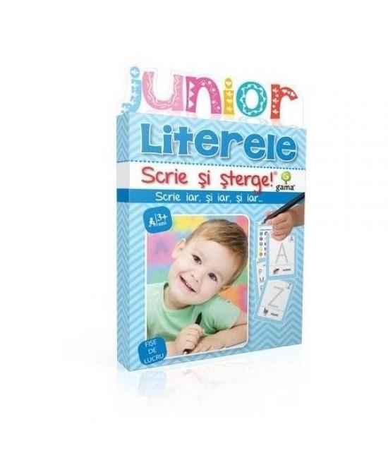 Literele - Scrie și șterge - Junior