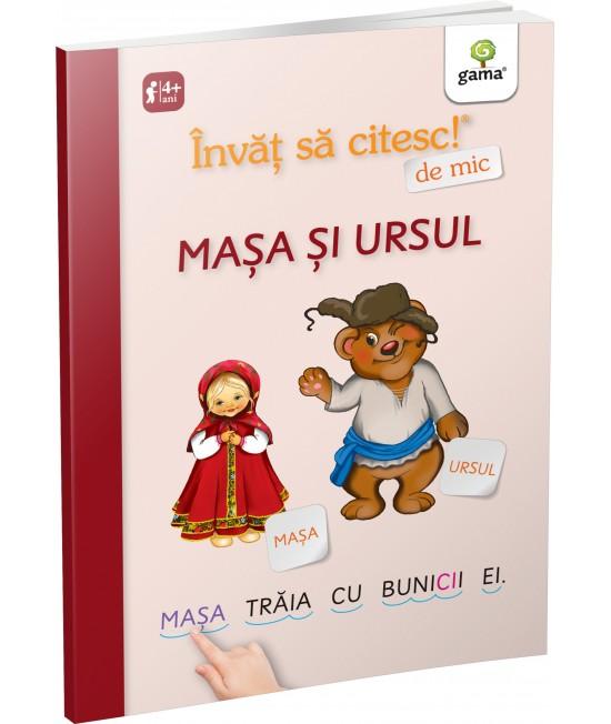 Mașa și ursul - Învăț să citesc de mic
