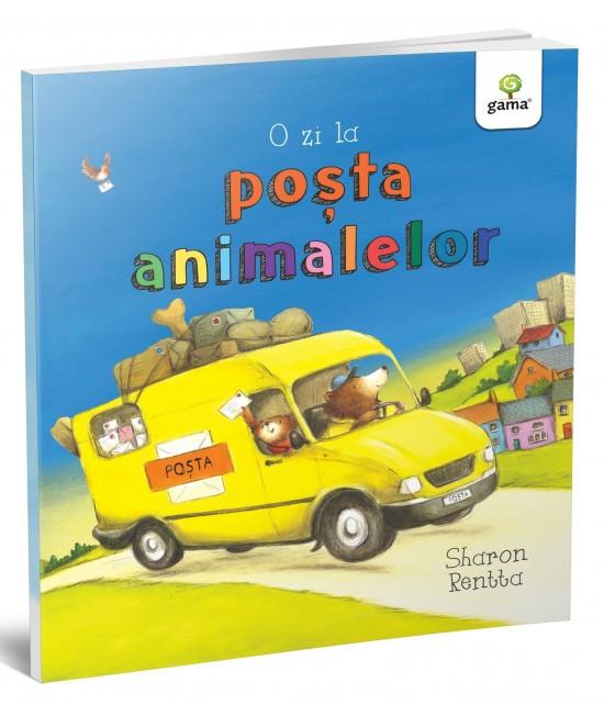 O zi la poșta animalelor - Sharon Rentta - Colecția O zi în lumea animalelor