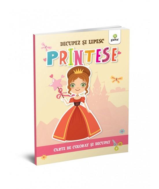 Prințese - Colorez, decupez și lipesc!