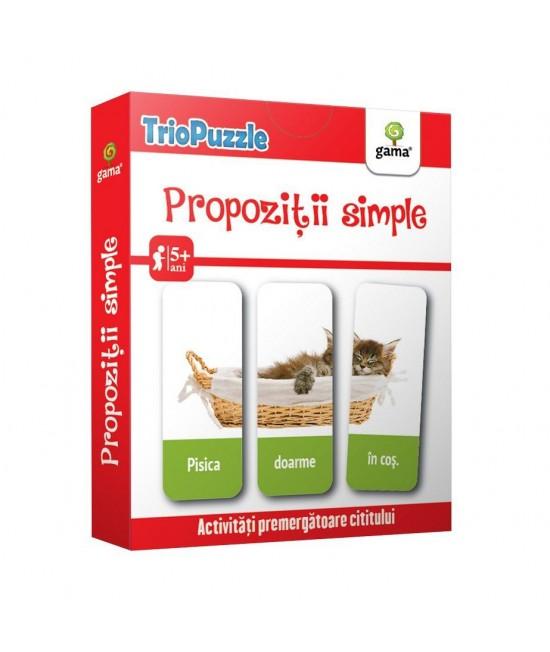 Propoziții simple - Triopuzzle