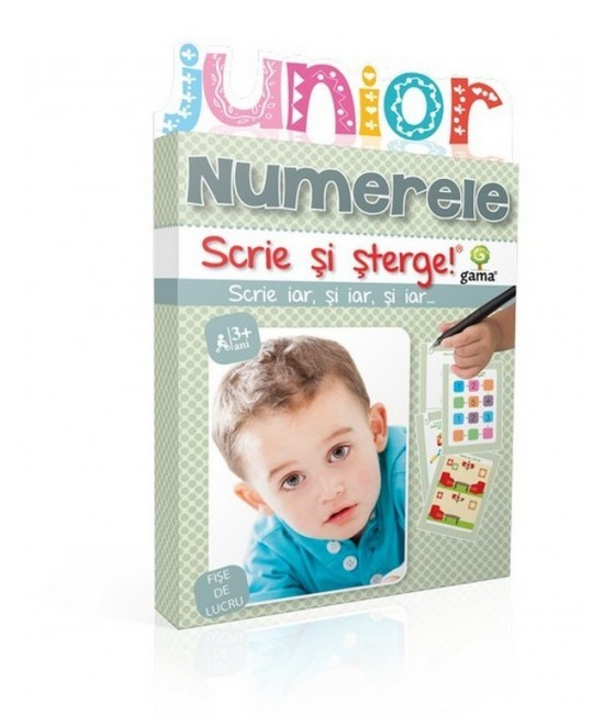 Numerele - Scrie și șterge - Junior