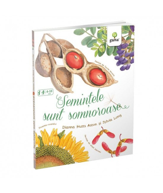 Semințele sunt somnoroase - Magia naturii - Diana Hutts Aston și Sylvia Long