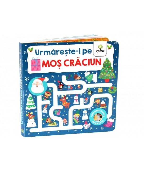 Urmărește-l pe Moș Crăciun - Labirinturi pentru degețele
