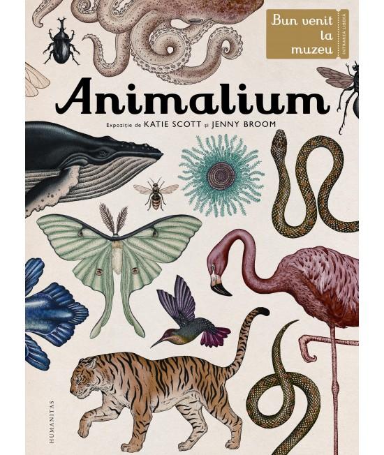 Animalium. Bun venit la muzeu. Intrarea libera - Katie Scott și Jenny Broom