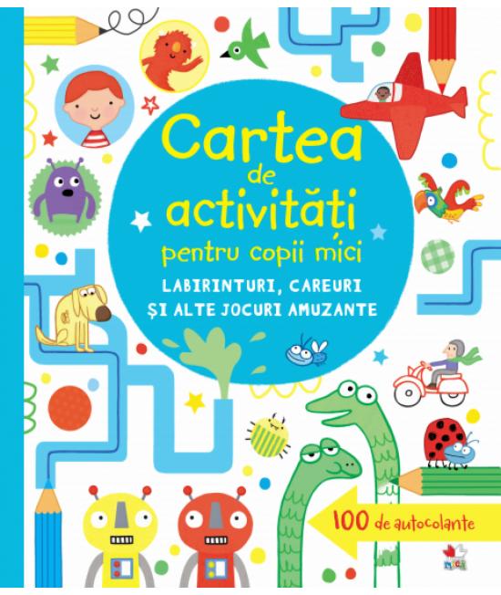 Carte de activități pentru copii mici. Labirinturi, careuri