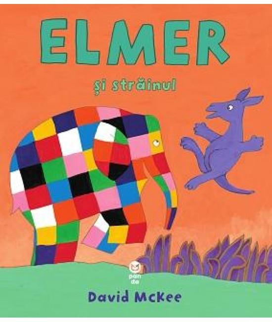 Elmer și străinul - David McKee
