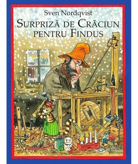 Surpriză de Crăciun pentru Findus - Sven Nordqvist - seria Pettson și Findus