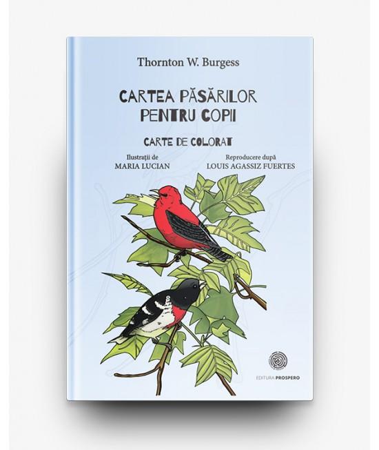 Cartea păsărilor pentru copii - Carte de colorat - T. W. Burgess