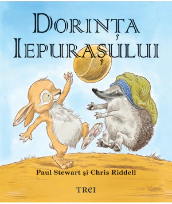 Dorinţa iepuraşului - Paul Stewart și Chriss Riddell