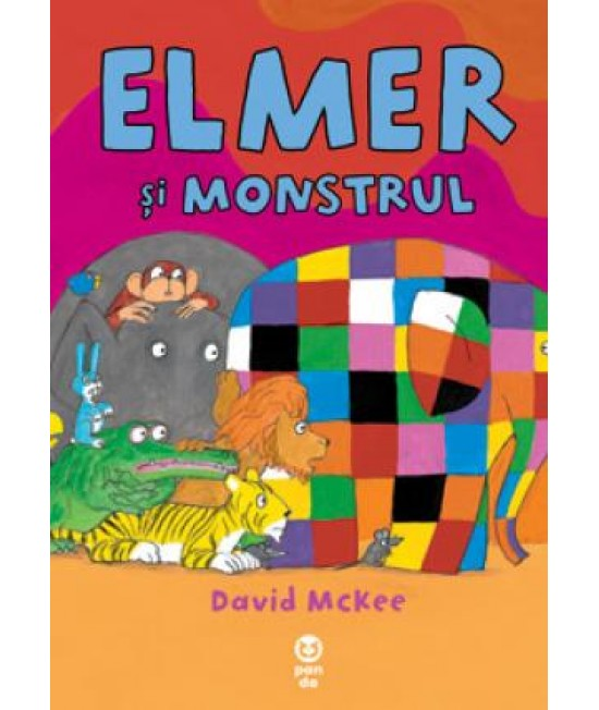 Elmer și monstrul - David McKee