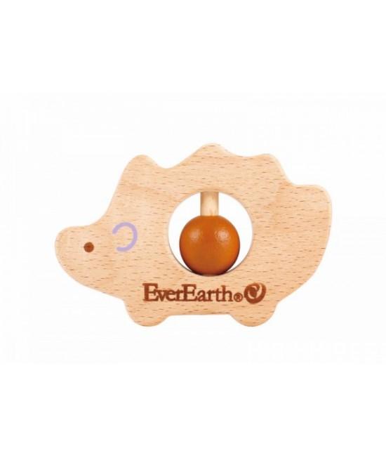 Jucărie din lemn pentru bebeluși - Arici EverEarth