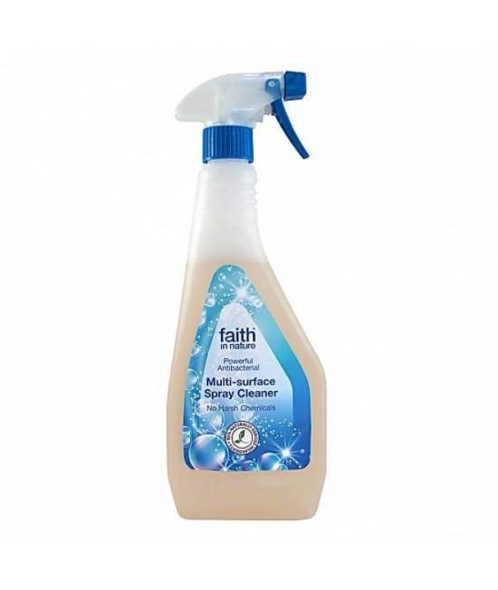 Soluție naturală dezinfectantă antibacteriană pentru toate suprafețele Faith in Nature
