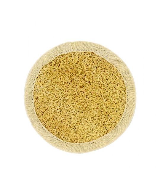 Peeling Pad pentru ten - Luffa facială & bumbac organic Förster's Natural Products