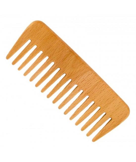 Pieptene din lemn de fag - pentru păr ondulat Förster's Natural Products