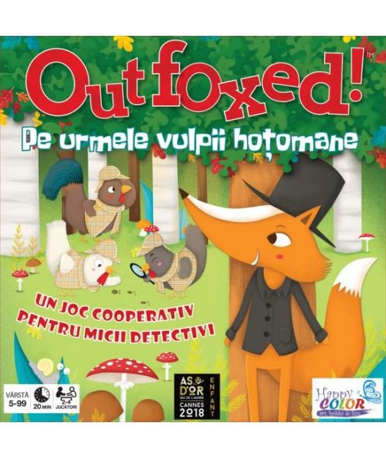 Outfoxed! - joc de cooperare Gamewright